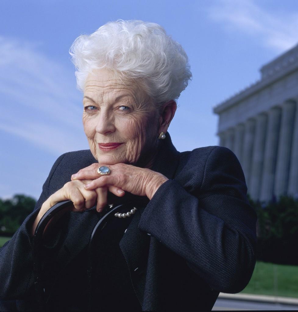 Former Governor Ann Richards