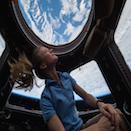 Dr. Karen Nyberg in Space - Thumbnail