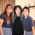 Georgia, Lily, and Karina