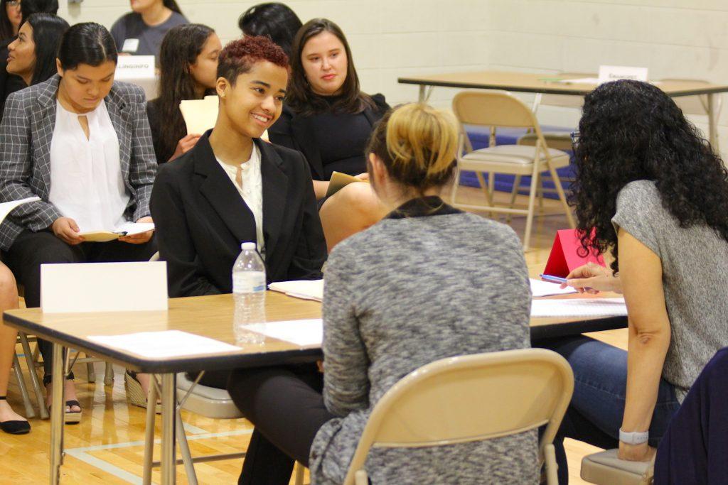 Junior Internship Week Interviews - Ann Richards School for Young
